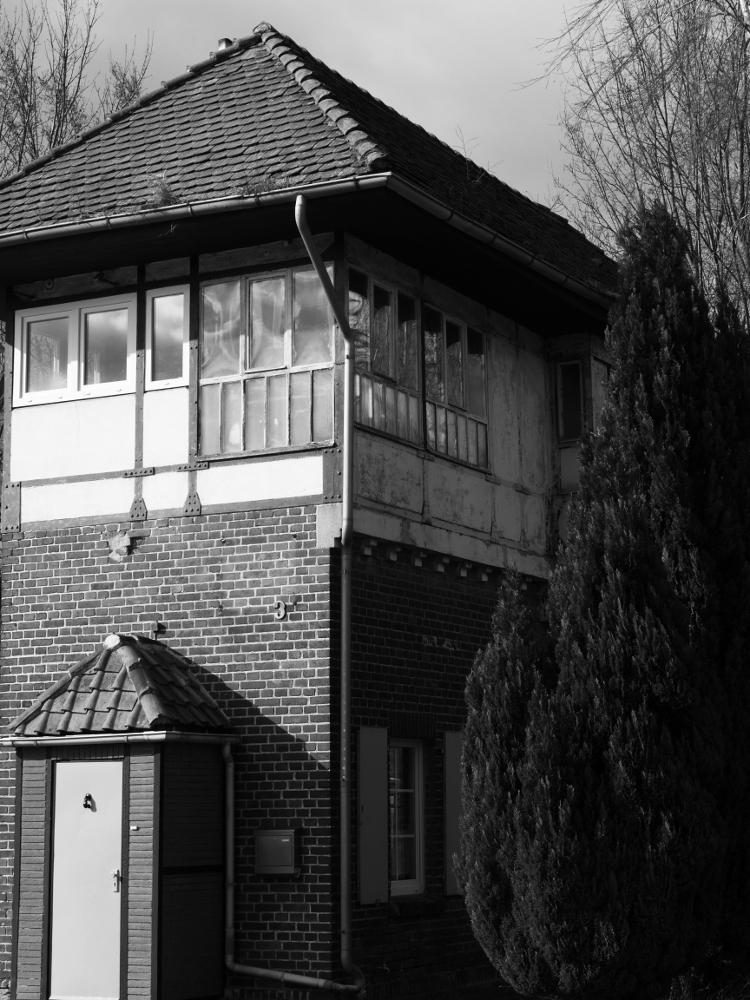 Dasa alte Stellwerksgebäude von Mattierzoll